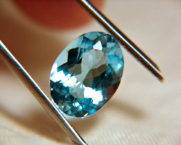 10.55 Carat Swiss Blue Topaz - IF/VVS1 - Gorgeous