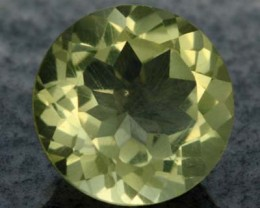 VS LEMON QUARTZ ROUND CUT  3.50 CTS [S607 ]