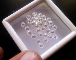 NATURAL WHITE DIAMOND-15-20PTS SIZE-5CTWLOT