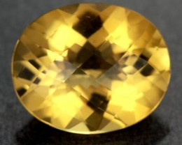 VVS LARGE CITRINE   ORANGE/YELLOW BRAZIL 17.75 CTS [S6045  ]