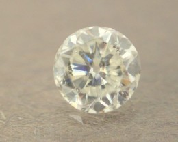 NATURAL WHITE DIAMOND-6MMSIZE--O.85CTWSIZE-1PCS,NR
