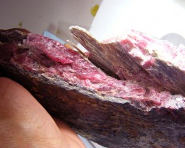 RHODHONITE COLLECTOR INVESTMENT SPECIMEN 1670G/8350CTS