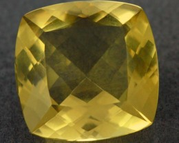VVS  LARGE -GOLD/YELLOW QUARTZ STUNNING 11.15  CTS[S6065 ]