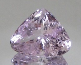 CERTIFIED 30.65ct VVS Natural Violetish Pink KUNZITE