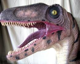 HUGE Velociraptor Dinosaur