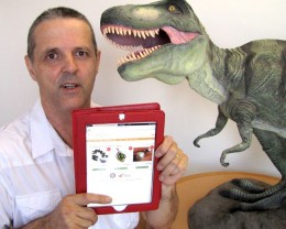 Wild Tryranosaurs Rex Dinosaur