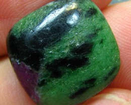 RUBY ZOISITE GREAT LOOKING STONE 16.85 CTS