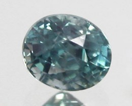 SEA BLUE ZIRCON .95 CARAT WEIGHT OVAL CUT GEMSTONE BEAUTY