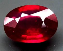 3.20 Carat Pigeon Blood Ruby VS Beauty