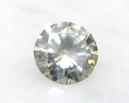 CERTIFIED 0.34ct 4.6mm Untreated Natural DIAMOND