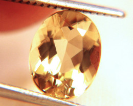 2.49 Carat VVS1 Golden Yellow Beryl - Gorgeous