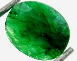 AVENTURINE FACETED EMERALD GREEN 6.47 CTS FP-1943 (PG-GR)