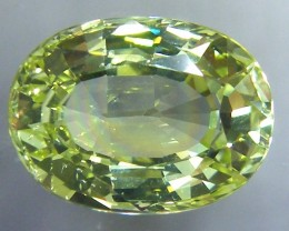 VVS1 CHRYSOBERYL LEMON YELLOW  COLLECTOR PC 6.81   CTS JM-17