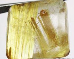 16.85 CTS GOLDEN RUTILATED QUARTZ 'STAR BURST'  [MX9978]