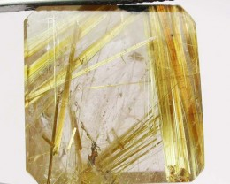 23.35 CTS GOLDEN RUTILATED QUARTZ 'STAR BURST'  [MX9996]