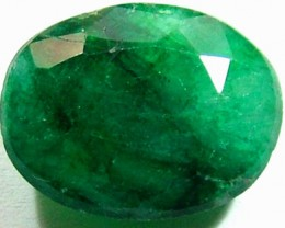 AVENTURINE FACETED EMERALD GREEN 9.63 CTS PG-708