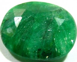 AVENTURINE FACETED EMERALD GREEN 7.65 CTS PG-700