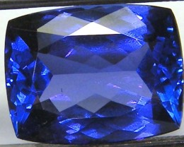 VVS1 TANZANITE FACETED COLLECTOR PC  6.17 CTS JM-PG-RK-19
