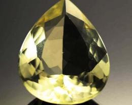 17.26 CTS VVS  LARGE -GOLD/YELLOW QUARTZ   [S6125]