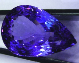 AAA TANZANITE INVESTMENT- COLLECTOR PC  15.18 CTS JM-