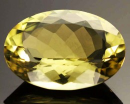 20.60 CTS VVS  LARGE -GOLD/YELLOW QUARTZ   [S6140]