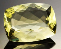 14.25 CTS VVS  LARGE -GOLD/YELLOW QUARTZ   [S6142]