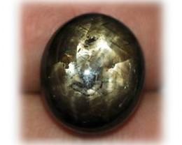 CERT 13.82ct Rare! 5-Stars-In-1-Stone! STAR SAPPHIRE (See VID)