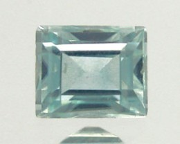 BLUE ZIRCON .80 CARAT WEIGHT BAGUETTE CUT GEMSTONE BEAUTY