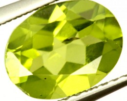 PERIDOT FACETED STONE 1.90 CTS PG-946