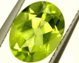 PERIDOT FACETED STONE  1.95 CTS PG-945