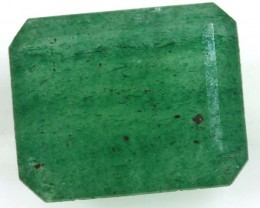 AVENTURINE FACETED EMERALD GREEN 2.20 CTS PG-689