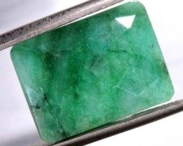 AVENTURINE FACETED EMERALD GREEN 11 CTS PG-684