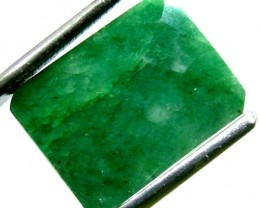 EMERALD FACETED  11 CTS PG-687