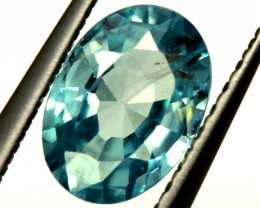 BLUE ZIRCON FACETED STONE 0.95 CTS  PG-1239