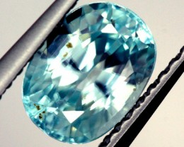 BLUE ZIRCON FACETED STONE 1.80 CTS  PG-1233