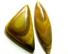 BUMBLEBEE JASPER CABS (2PC) 23.85 CTS PG-680