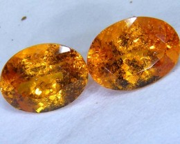 3.9 CTS  SPESSARTITE GARNET FACETED PG-202