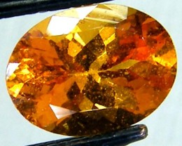 1.30 CTS SPESSARTITE GARNET FACETED STONE PG-212