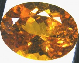 1.70 CTS SPESSARTITE GARNET FACETED STONE  PG-217