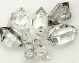 CRYSTAL QUARTZ-LIKE HERKIMER-DIAMOND (6PC) 7 CTS RG-2176