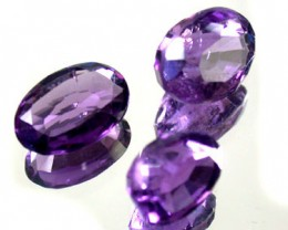 PARCEL 3PCS AMETHYST FROM AFGHANISTAN 16.3 CTS GW 1158