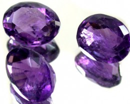 PARCEL 3PCS AMETHYST FROM AFGHANISTAN 21.3 CTS GW 1161