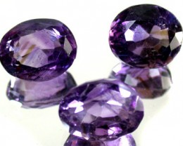 PARCEL 3PCS AMETHYST FROM AFGHANISTAN 25.2 CTS GW 1168