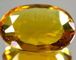 GOLDEN TOPAZ SUN GOLD FROM AFGHANISTAN 7.2 CTS GW 1254