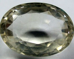 GOLDEN TOPAZ FROM AFGHANISTAN 21.50 CTS GW 495