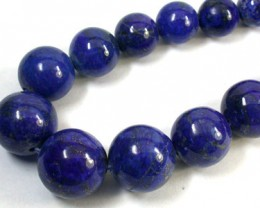 MUSEUM GRADE LAPIS BEADS NECKLACE 785  CTS  GW 1419