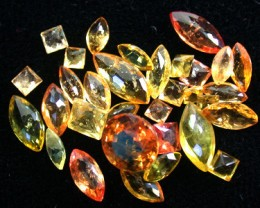 PARCEL FACETED YELLOW SAPPHIRES 5.20 CARATS GW 1664