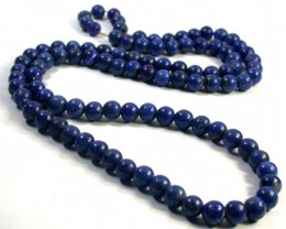 LAPIS BEAD STRAND  FROM AFGHANISTAN 426 CARATS GW 1715