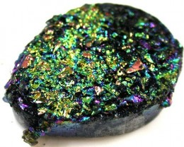 COLOURFUL DRUSSY STONE  42CTS [MGW 468]