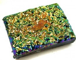 COLOURFUL DRUSSY STONE  37.4CTS [MGW 518]